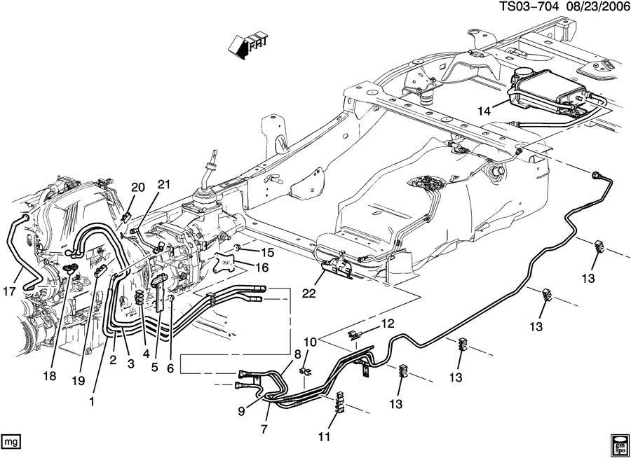 2005 chevy truck silverado fuel system parts and components diagram