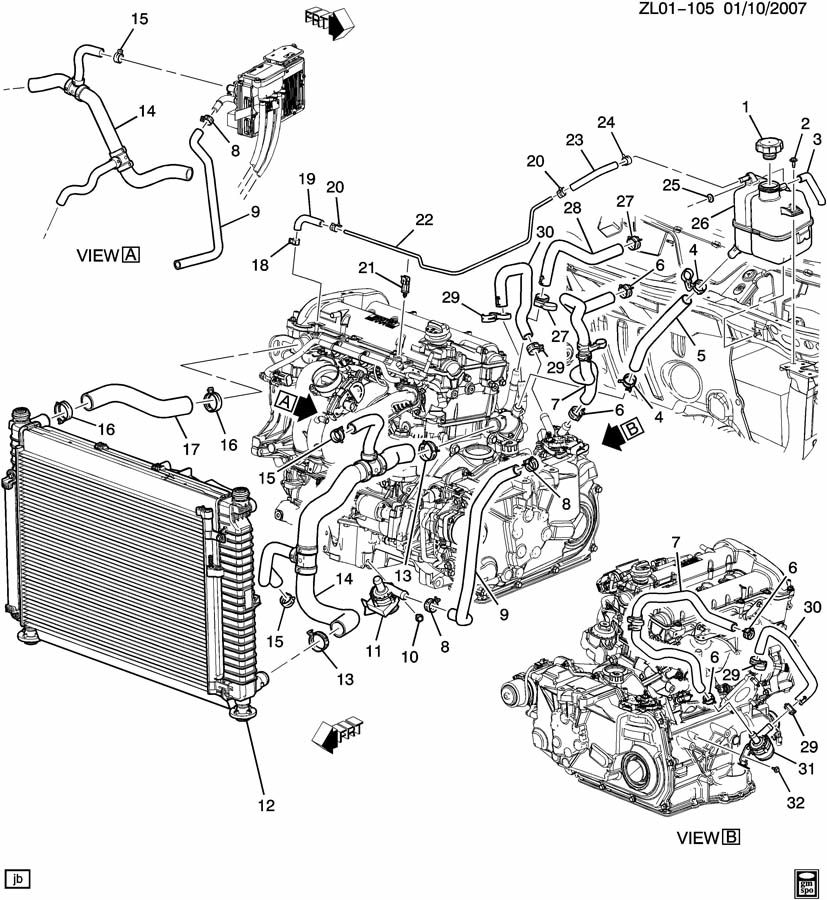 pics photos geo prizm engine diagram