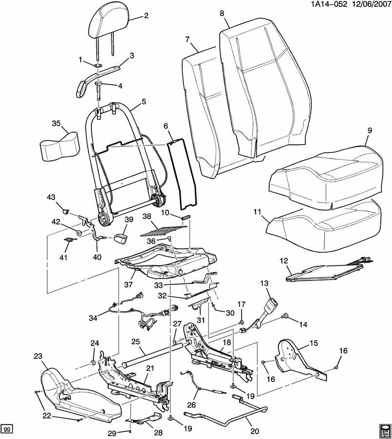 Air bag sensor swap to new seat Chevy Cobalt Forum - Cobalt SS