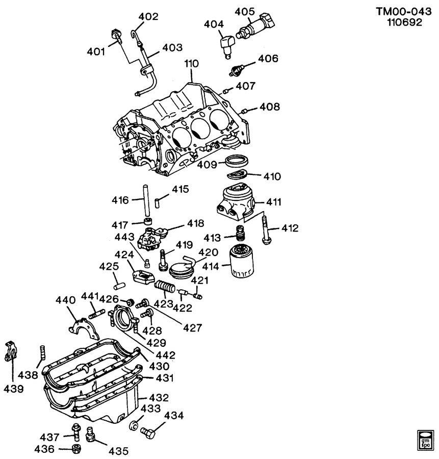 mercruiser 7.4 engine diagram