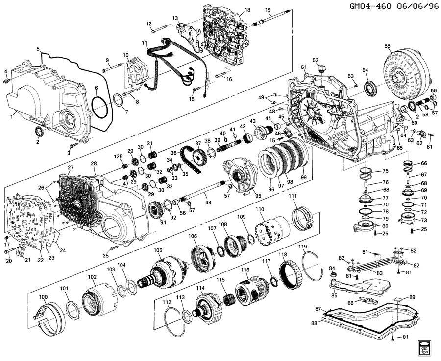 2003 4l60e Transmission Diagram Breakdown Wiring Diagram Library