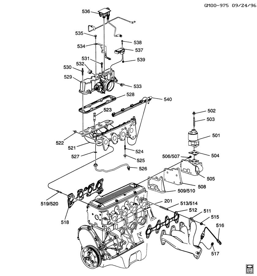 chevy vortec 3 7l engines diagrams