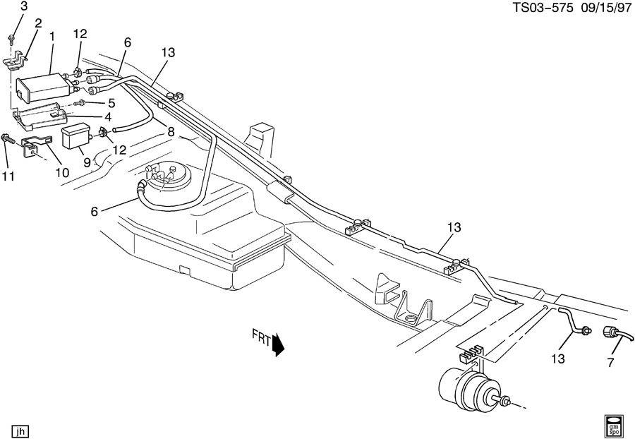 Chevy S10 Fuel System Diagram - Hghogoiinewtradinginfo \u2022