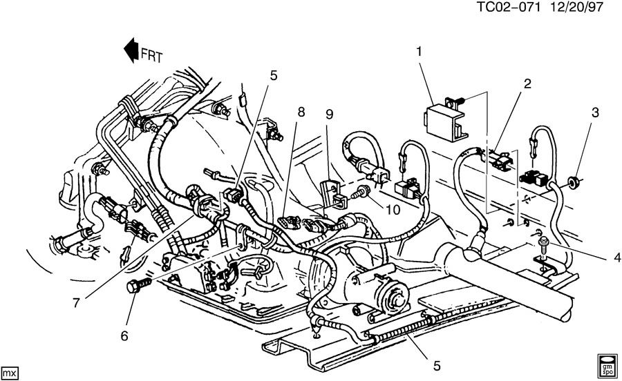 buick eng wiring harness
