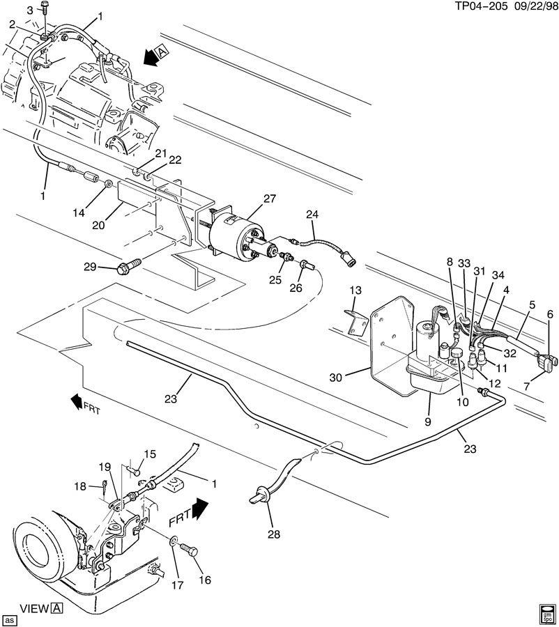 trans wiring harness 2003 4r100
