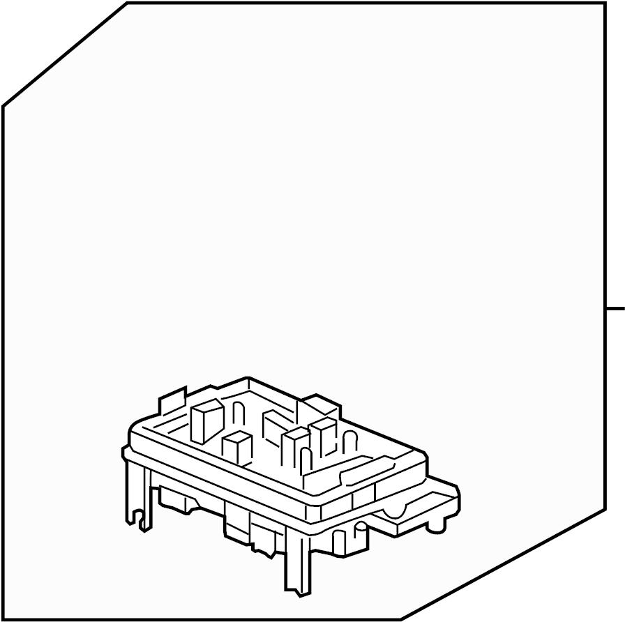 chevrolet wiring junction block