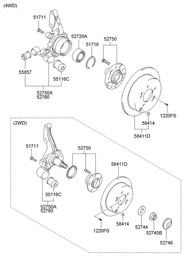 Hyundai Tucson Spare Parts Manual