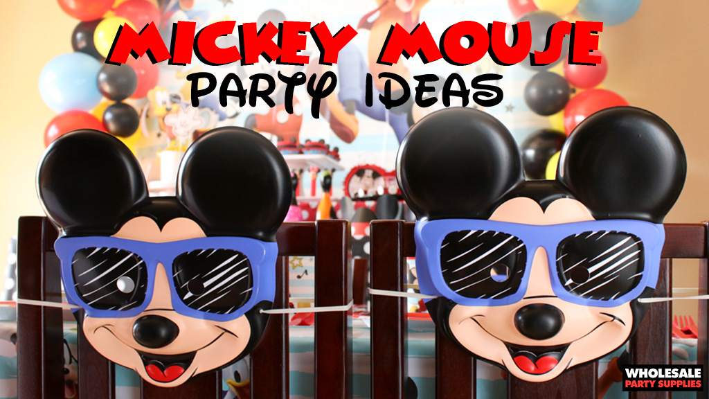 Party Ideas  Activities by Wholesale Party Supplies - mickey mouse boy birthday party ideas