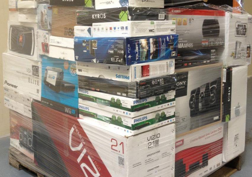 Pallet Of Liquidation Electronics Wholesale Scout