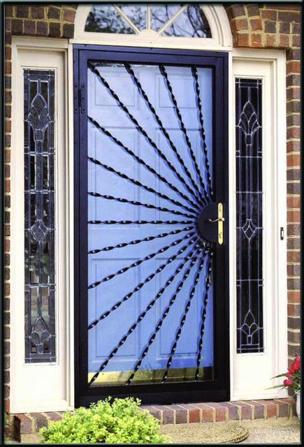 Gallery for gt security storm doors with screens