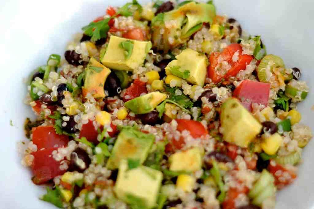 Black Bean and Quinoa Salad2