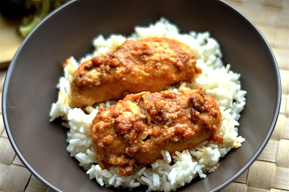 Slow Juicer Peanut Butter : Slow Cooker Peanut Butter Chicken - Wholesomelicious