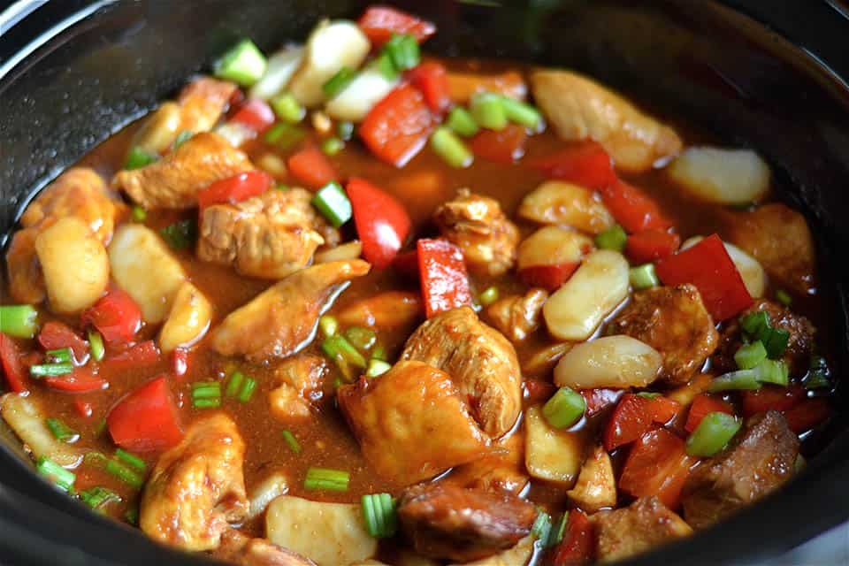 Slow Cooker Kung Pao ChickenWholesomelicious