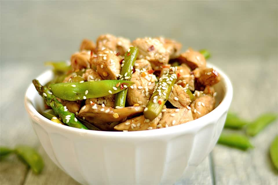 Balsamic Honey Chicken Stir-Fry - Wholesomelicious