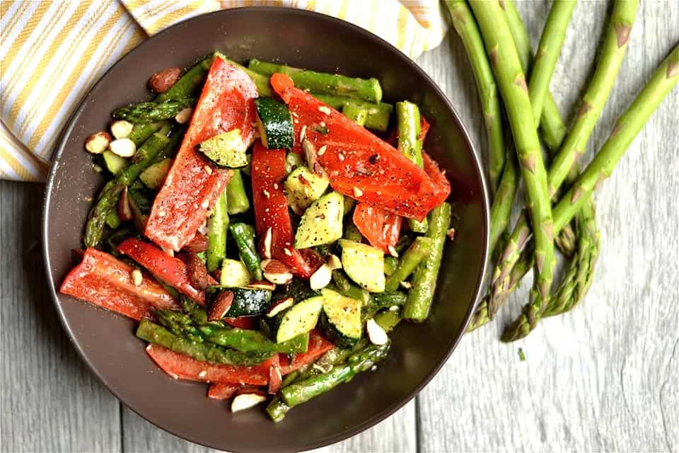 Maple Dijon Roasted Vegetables - Wholesomelicious