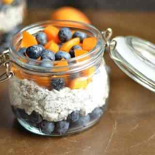 Apricot Blueberry Chia Pudding 2