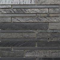 Waterfall Mosaic Tile Black Slate
