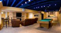 ceiling ideas for unfinished basement - Basement Ceiling ...
