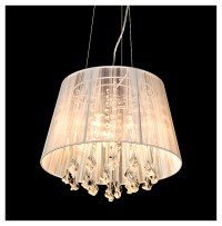 crystal chandelier lamp shades
