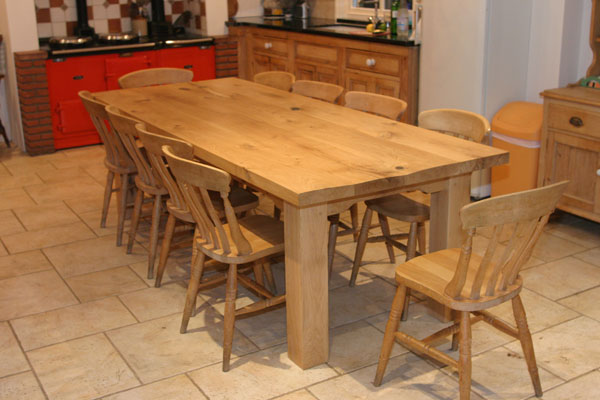 Farmhouse Kitchen Table A Versatile Table That Is Good for Any - kitchen table designs