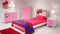 Hello Kitty Bedroom Set  Various Cute Decorations to Fill ...