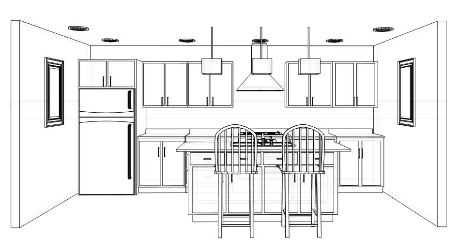Kitchen Design Layout for Functional Small Kitchen WHomeStudio - small kitchen layout ideas