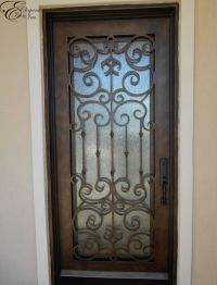 wrought iron door bolts - Wrought Iron Doors Design for ...