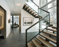 modern staircase - Indoor Modern Staircase for Residential ...