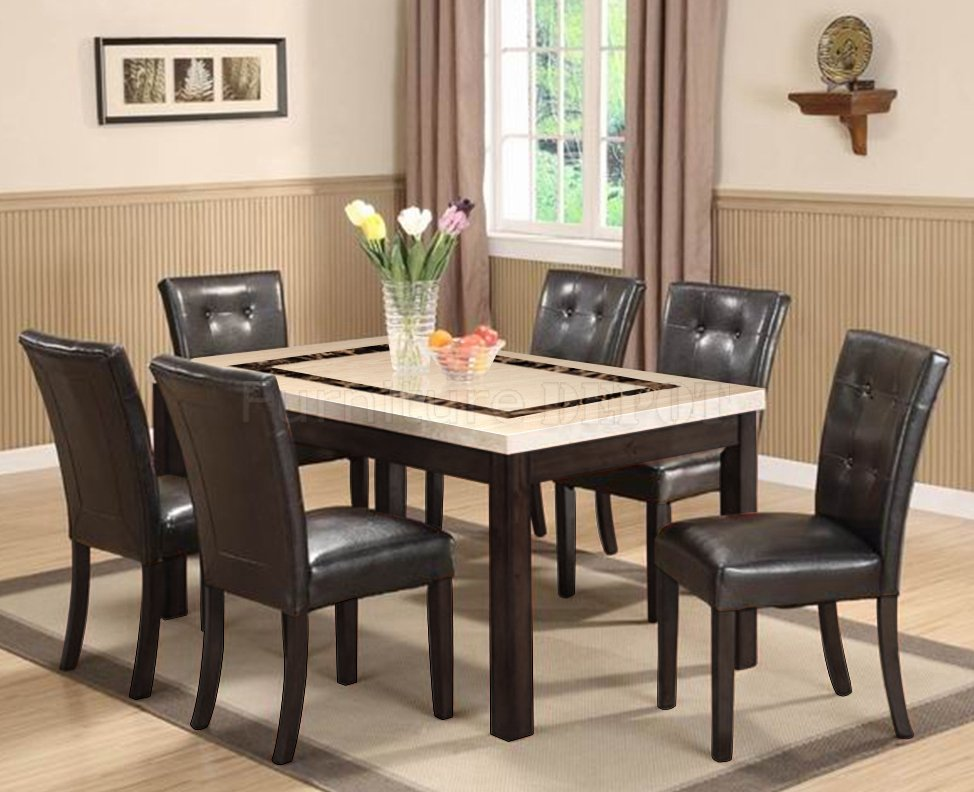 Marble Top Dining Table With Bench Marble Top Dining