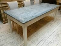 zinc top dining table cleaning - Zinc Top Dining Table ...