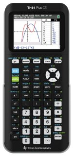 Black Ce Texas Instruments TI Plus Graphing Calculator