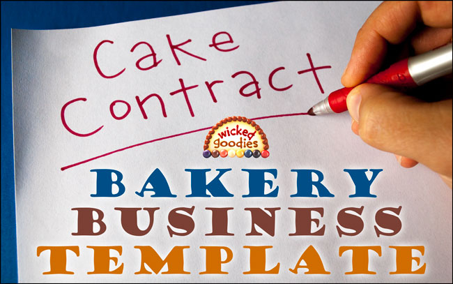 How to Write a Cake Contract - cake order form template example