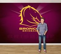 Pro Art - NRL Murals - Brisbane Broncos BBNRLW1