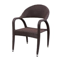 Source Outdoor Venetian Wicker Dining Chair - Wicker ...