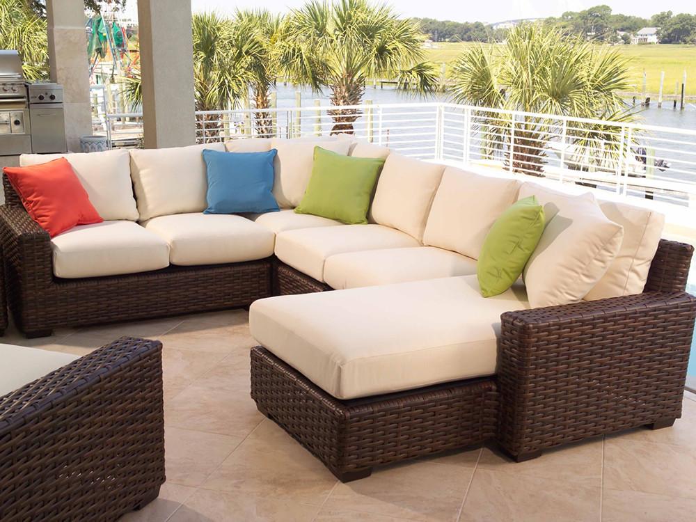 Outdoor Wicker Sofa Set Better Homes And Gardens Cadence