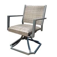 Forever Patio Spirit Swivel Wicker Dining Chair - Wicker ...