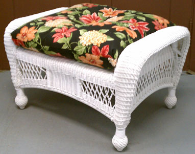 Replacement Ottoman Cushion Rectangular Tufted Cushion