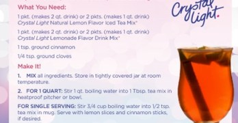Crystal Light Review & Recipes