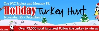 Holiday Turkey Hunt Blog Event!
