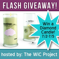 Diamond Candle Flash Giveaway