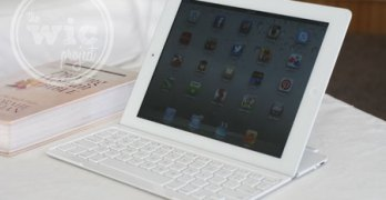 A Keyboard For Your iPad – Logitech Ultrathin Keyboard Cover