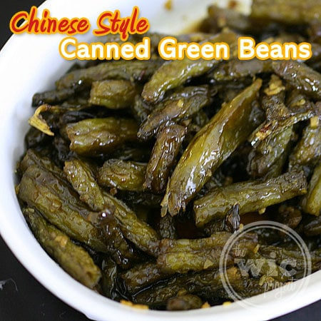 Chinese-Style Canned Green Beans