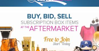 Sell on The Aftermarket at Find Subscription Boxes – What To Do With Subscription Box Items You Don't Want