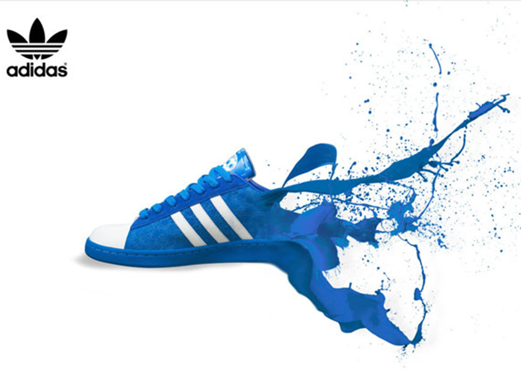 Creative Shoe advertising poster in China SWP31-11