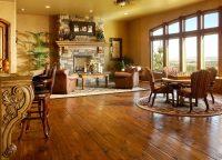 Eastern White Pine Flooring in a Living Room