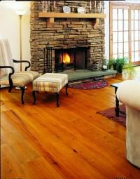 Heart Pine Floors in a Living Room | Carlisle Wide Plank ...