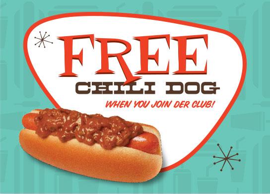 Specials - Wienerschnitzel Free Chili Dog