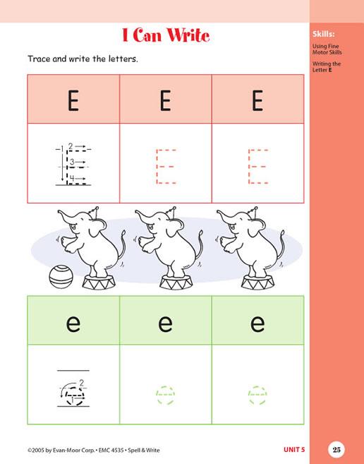 skill sharpeners spell and write grade 3 pdf