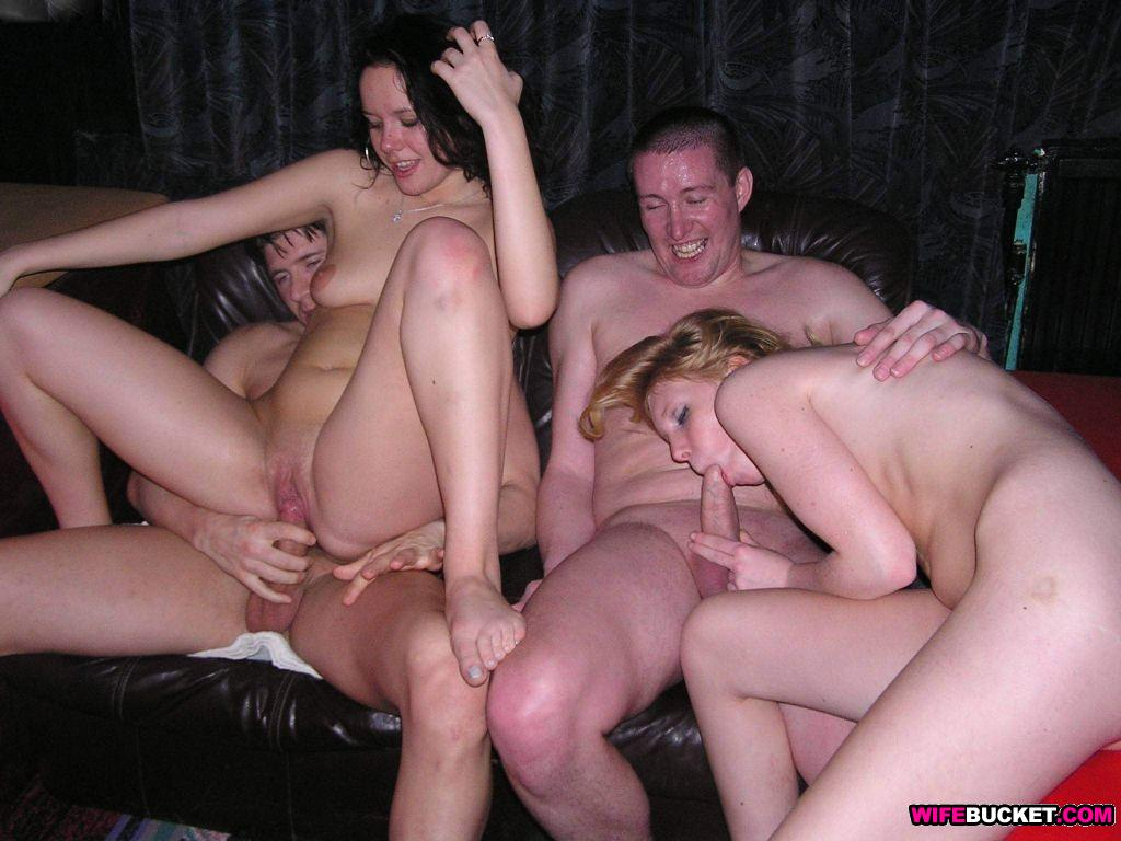 wife at swingers club