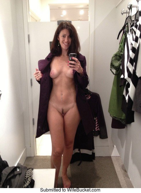 Dressing room selfie